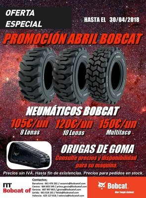 April Promotion Bobcat Tires